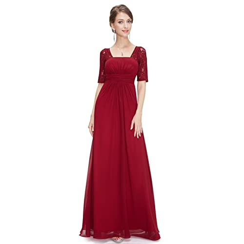 Ever Pretty Womens Half Sleeve Empire Waist A Line Evening Dress08038