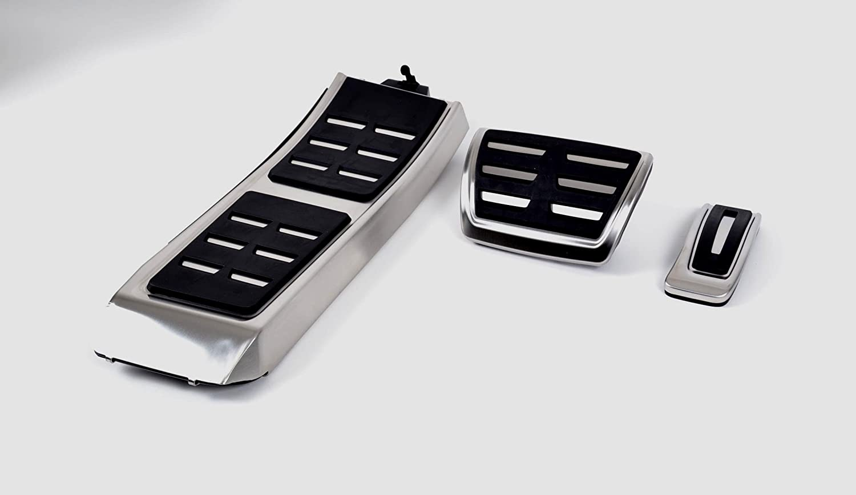Audi 8K1 064 205 B Pedalkappen Edelstahl, Linkslenker, Automatikgetriebe mit Fuß stü tze Audi AG
