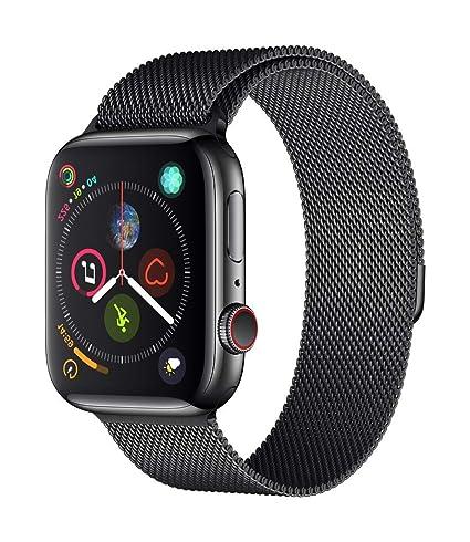 Apple Watch Series 4 Reloj Inteligente Negro OLED Móvil GPS (satélite) - Relojes Inteligentes