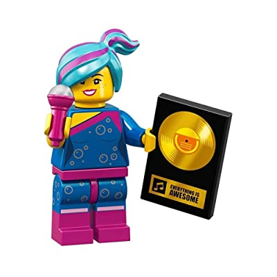 The LEGO Movie 2 Collectible MiniFigure - Flashback Lucy (Sealed Pack): Toys & Games