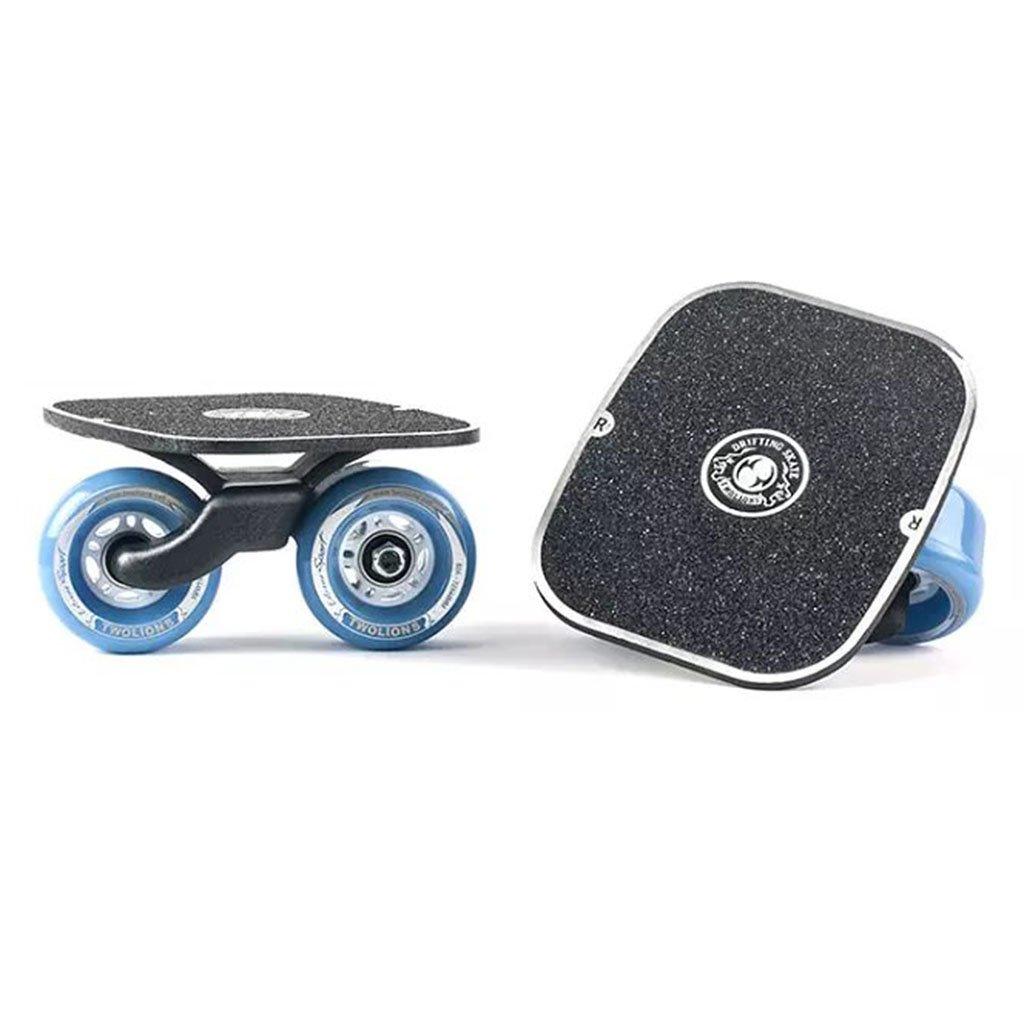 【今日の超目玉】 ドリフトボードフライラインスケートフラッシュ大人の子供四輪スプリットスケートボード輸送されたロードスクラブ B07FLX64QG B07FLX64QG Blue Blue Blue, 爆買い!:9af24bfa --- a0267596.xsph.ru