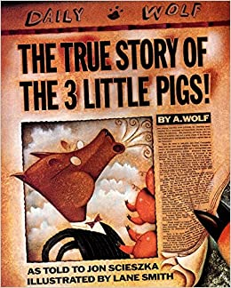 PDF Gratis The True Story Of The Three Little Pigs