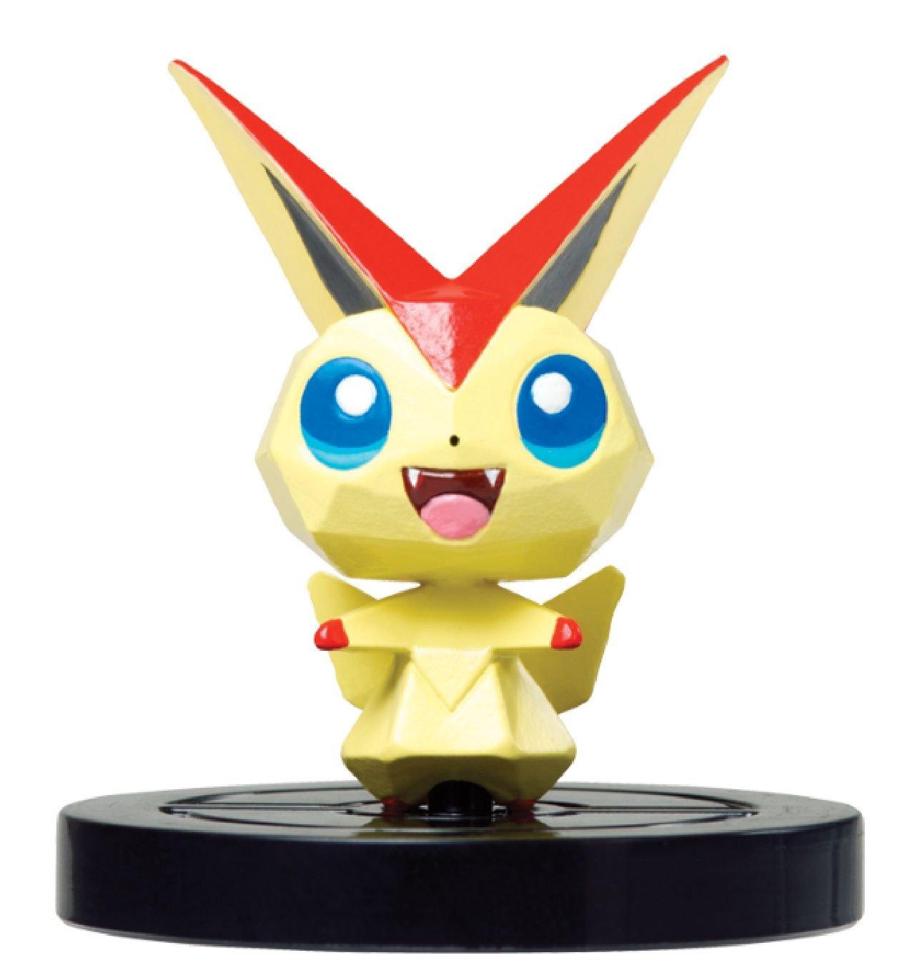 Pokemon Scramble U NFC figure 6 set body Free shipping from JAPAN