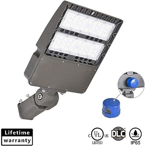 LED Parking Lot Light 100W 150W Module Street  Pole fixture Shoebox Area