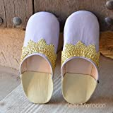 Moroccan Sheepskin Slippers