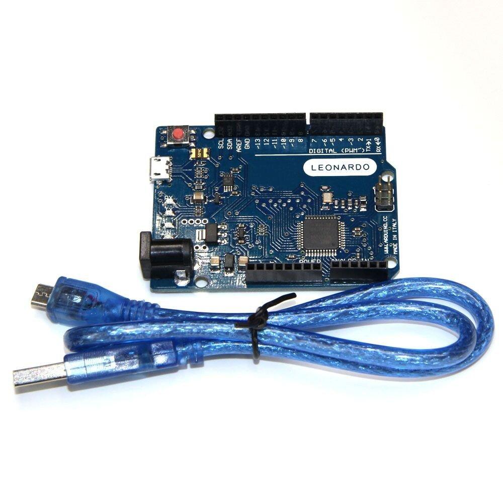 Leonardo R3 Pro Micro ATmega32U4 Board Arduino Compatible IDE USB Cable