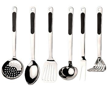 berghoff ergo - set di utensili da cucina, 7 pz: amazon.it: casa e ... - Lista Utensili Da Cucina