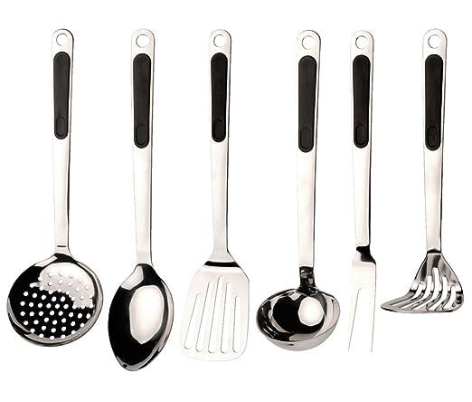 14 opinioni per BergHOFF Ergo- Set di utensili da cucina, 7 pz