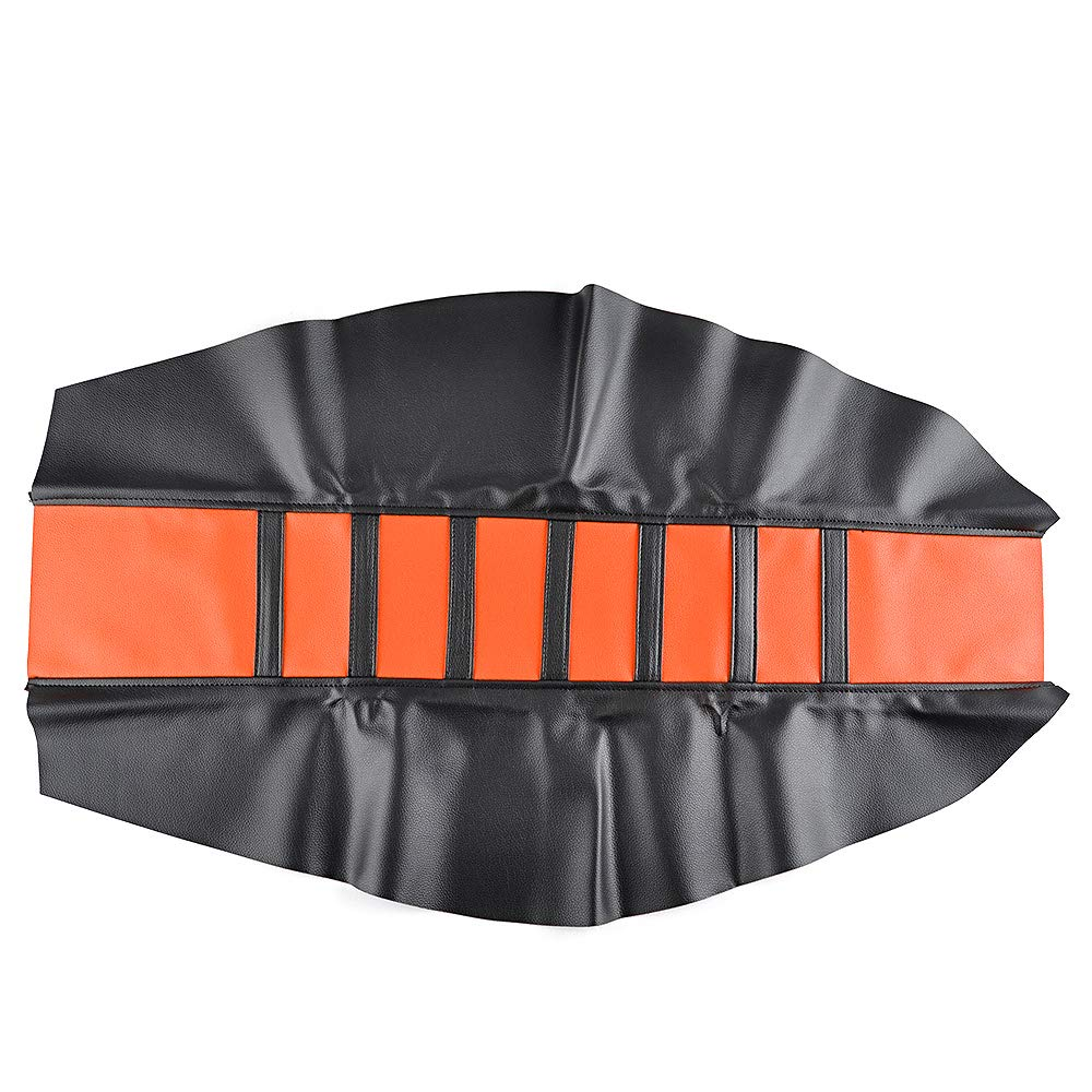 Funda protectora universal de cuero para asiento de motocicleta KTM250 XC 300 XC 450 SXF 525 SX 150 SX 2011-2015