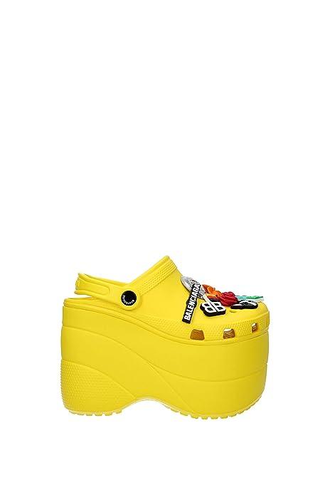 Zapatillas y Zuecos Balenciaga Mujer - Caucho (520671W1GH0) EU: Amazon.es: Zapatos y complementos