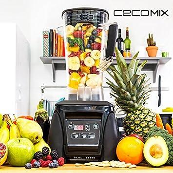qtimber Batidora de Vaso Cecomix Power Titanium Pro 4027 33 x 23 x 40 cm frullatore: Amazon.es: Hogar