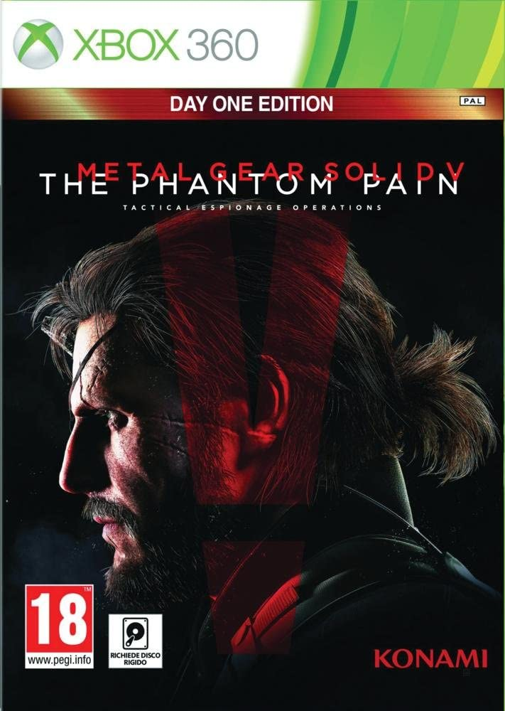 Metal Gear Solid 5 The Phantom Pain (Day 1 Edition) (Xbox 360) (New)