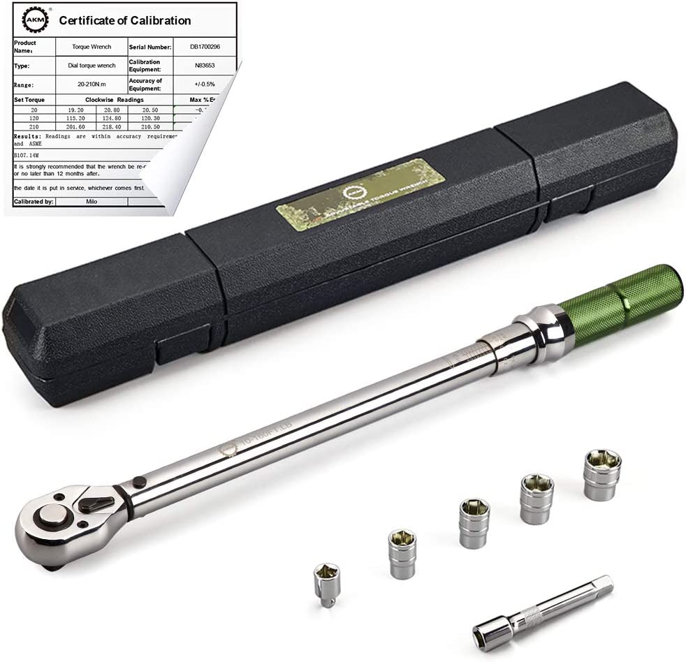 AKM Dual-Direction Click Torque Wrench