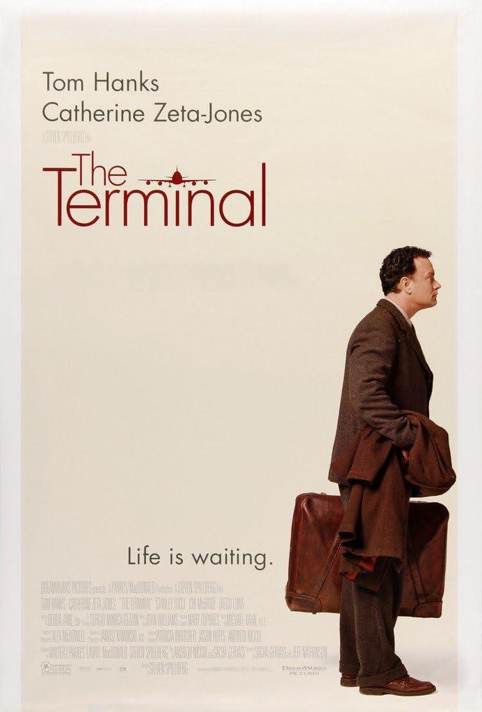 VGPD The Terminal (2004) Tom Hanks Movie Poster in sizes: Amazon.co.uk:  Kitchen & Home
