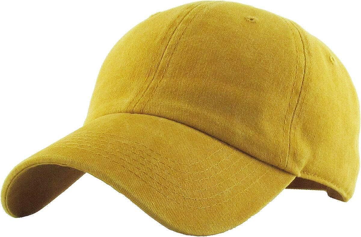 RWtmyy/_fb TM Pigment Washed Cotton Cap Baseball Caps Hat Adjustable