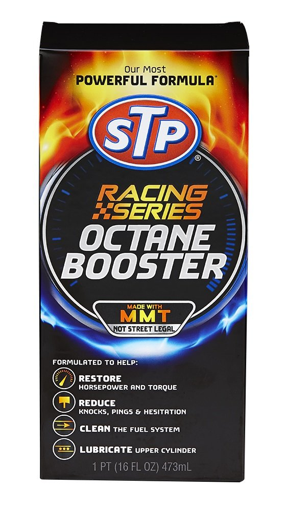 STP 17626 Racing Series Octane Booster, 16 fl. oz, 1 Pack