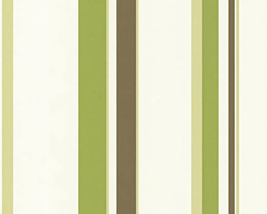 Streifen Vlies Tapete A.S.Creàtion  2372-31  Grün