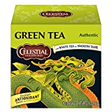 Cheap Celestial Seasonings Green Tea, Authentic, 40 Count (Pack of 6)