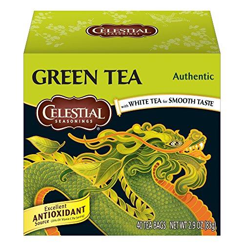 CELESTIAL SEASONINGS Authentic Green Tea