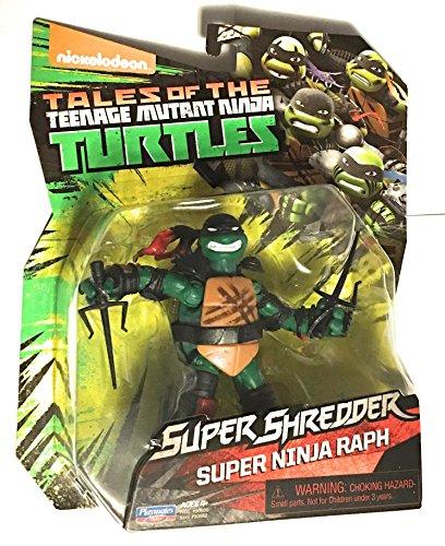 Teenage Mutant Ninja Turtles Super Ninja Raphael Action Figure (Ninja Turtles Toys New)