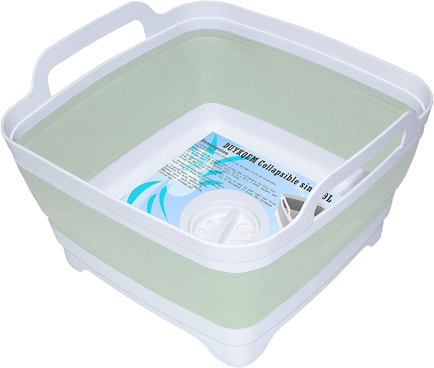 CAMPING DRAINER STORAGE BOX IN ONE for caravan /& tent washing up draining board