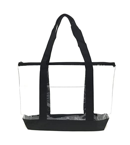 Amazon.com: Transparente de PVC cierre bolsa Bag/Seguridad ...