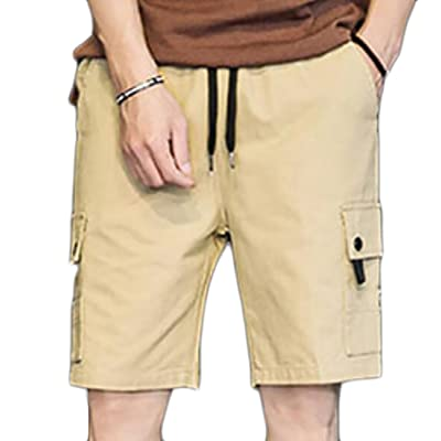 ACFUNEJRQ Mens Artistic Oceanic Figures Sea Horse Fashion Beach Pants Pocket Drawstring Beach Shorts