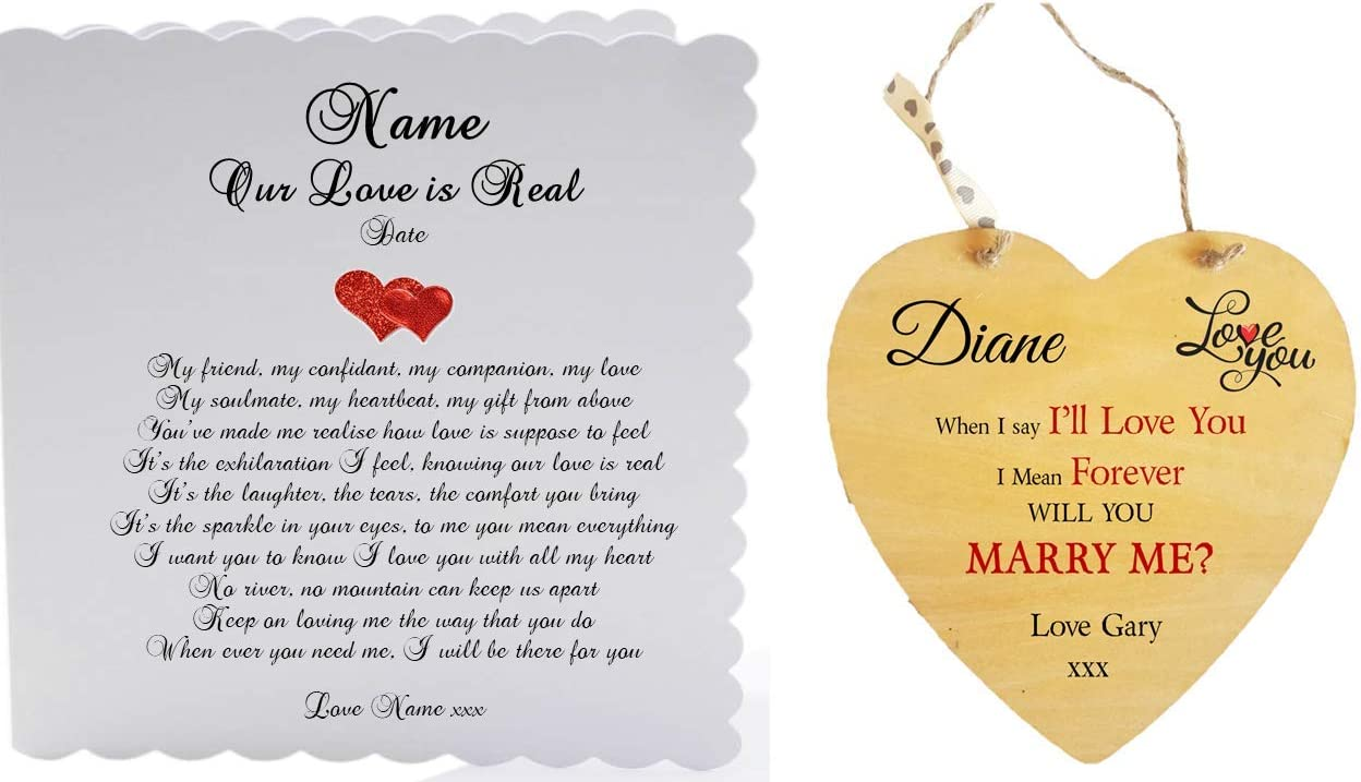 Love Forever Marriage Proposal card WILL YOU MARRY ME card