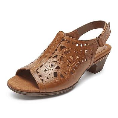 9386b36494 Amazon.com | Rockport Cobb Hill Collection Abbott Women's Sandal | Shoes