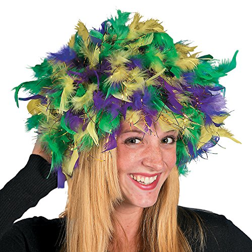 Mardi Gras Feather Headpiece (Mardi Gras Feather Headpiece)