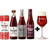 4 Pack de cervezas Belgas Rodenbach + Copa original