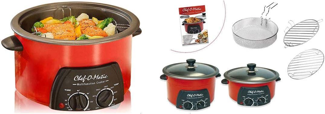 Chef-O-Matic Robot de Cocina Multifunción (3L): Amazon.es
