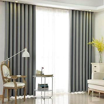 Y1cheng Vorhang Luxus Vorhänge Hochwertige Mode Dicken Sonnenschutz