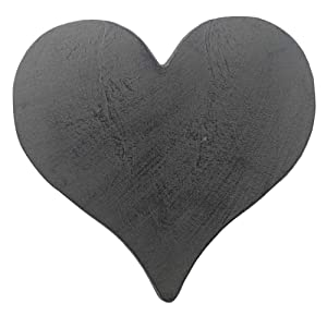 Comfy Hour Cast Iron Garden Stepping Stone - Heart