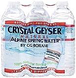 crystal geyser - Crystal Geyser, Natural Alpine Spring Water, 6 pack, 16.9 oz bottles