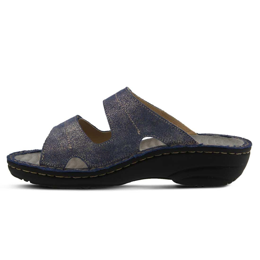 Spring Step Women's Marsela Flat Sandal B01N9KB66K 40 US)|Blue M EU (US 9 US)|Blue 40 f0f469
