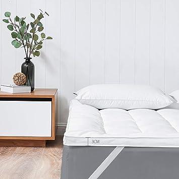 Colchón Sofa Cama Topper, Suave Antiescaras Lavable Ligeras Colchón futon Clip de Dinero para Hotel Alcoba-3cm Espesor 150x200cm(59x79inch): Amazon.es: ...