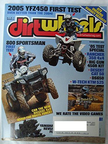 Dirt Wheels Dirtwheels Magazine, Vol. 24, No. 11 (November, 2004)