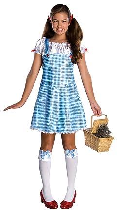 wizard of oz dorothy costume bluewhite small - Dorothy Halloween Costume Women