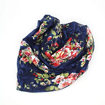 Womens Lace Beanie Floral Slouchy Hat Cap Lightweight Turban Stretchy Headwear