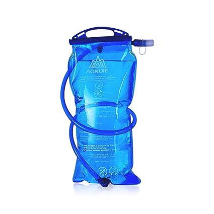 Bolsa de hidratación para senderismo de 1 l, 1.5L, L, 2 l, 3 l Sistema de paquete de mochila depósito de agua para acampar. Se adapta a camelbak, 2017 ...