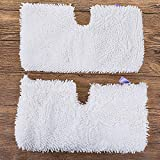 Mops - 2019 2pcs Washable Microfiber Mop Pads Cleaning Ceramic Tiles Floor Replacement Mops - Vaccuum Head Mops Lamp Laminate Brush Machine Dryer Wallpaper Bissel Bucket Spin Light Ind