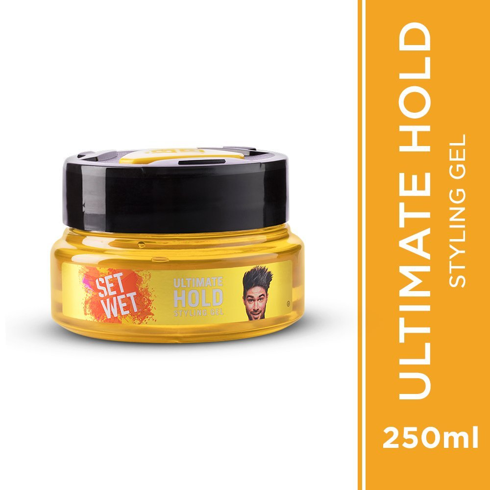 Buy Set Wet Hair Gel Ultimate Hold 250ml Online At Low Prices In Gabag  Ice 2 Pack India