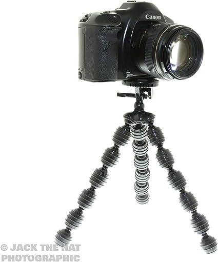 Trípode flexible para cámaras réflex digitales y cámaras de ...
