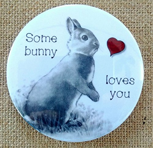 "Used, Magnet: 3.5"", Rabbit, Some Bunny Loves You, Pun, Cute, for sale  Delivered anywhere in Canada"