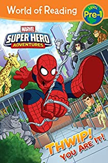 Book Cover: World of Reading Super Hero Adventures: Thwip! You Are It!: Level Pre-1