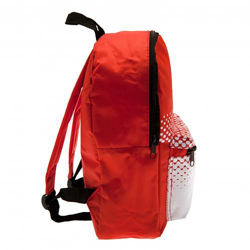 OFFICIAL F.C Barcelona 2nd Kit Junior Backpack Rucksack Kids Nursery Bag 27cm