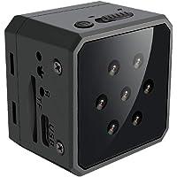 SZMDLX Spy Hidden Camera 1080P HD Wireless Home Security Surveillance Mini Cameras, Portable Tiny Nanny Cam Indoor…