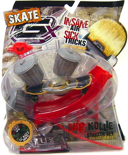 GX Racers Skate SK8 Nollie Starter Set with Scarez Fifty-5 Deck Plate