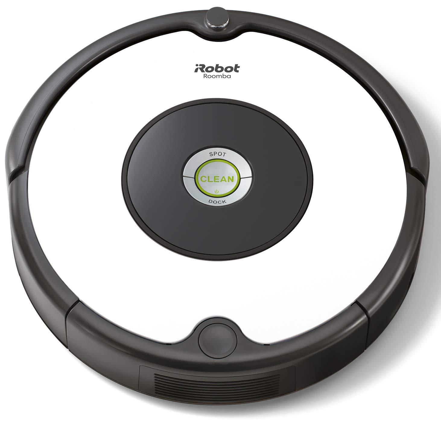 iRobot Roomba 605- Robot aspirador para suelos duros y alfombras, con tecnología Dirt Detect